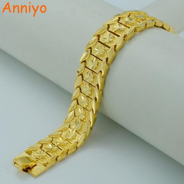 Anniyo 20 5cm Gold Bracelet For Women Men Color Br Dubai