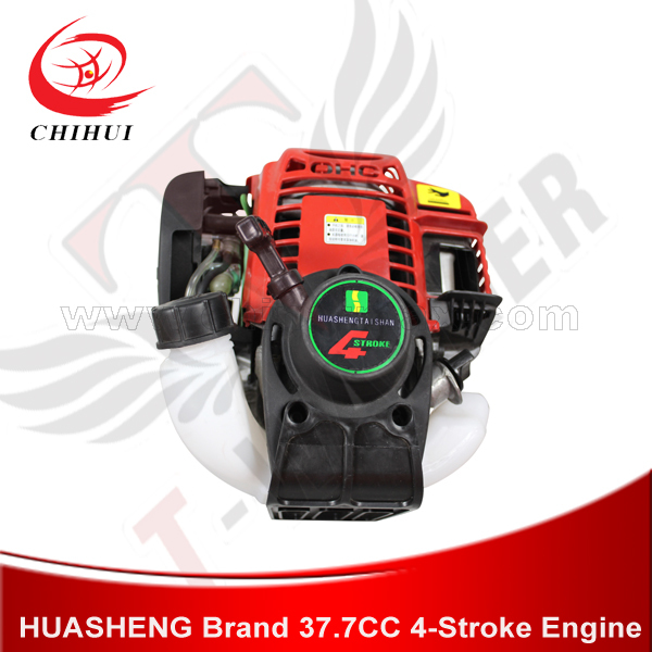 US $106 0  High Quality Scooter Engines HUASHENG Brand 37cc or 31cc 4  stroke, Air cooled Engine with Pull Start (Gas Scooter Spare Parts)-in  Scooter