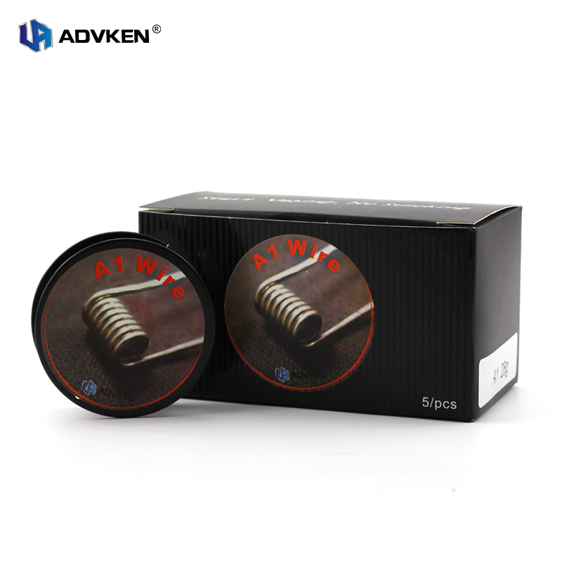 Authentic Advken 10FT 3M A1 Heating Wire Vape Wire 28g 30g 32g For Atomizer RDA RTA