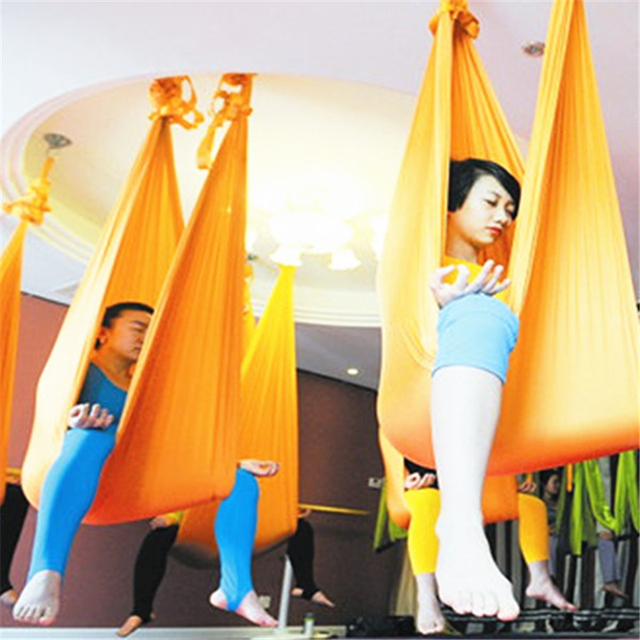 aerial yoga hammock set with hardware sling yoga   daisy chain and carabiners hanging training strap aerial yoga hammock set with hardware sling yoga   daisy chain and      rh   aliexpress