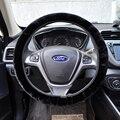 Руль почти бесплатно автомобилей руль обложка для Octavia 2 Гольф Поло Рио ceed искусственной меховой производства Горячей в продажу