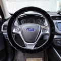 Steering wheel almost for free car steering wheel cover for Octavia 2 Golf Polo Rio ceed artifficial fur Hot production on sale