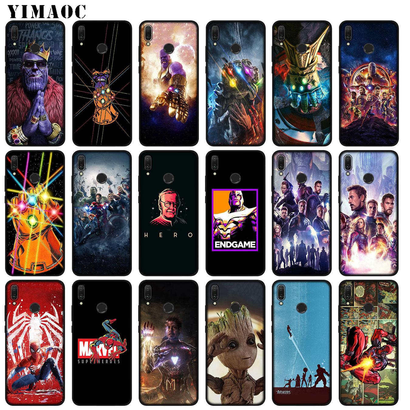 the-font-b-avengers-b-font-thanos-marvel-endgame-soft-silicone-case-for-huawei-p30-p20-pro-p10-p9-p8-lite-mini-2017-2016-2015-p-smart-2019