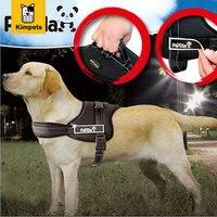 Chất Lượng cao Pet Dog Nylon Harness Bán Mềm Hot Lớn Dog Treo Vật Nuôi Harness Retractable Dog Leash cho Nhỏ và lớn