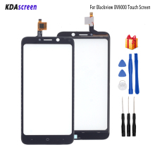 Touch Screen For Blackview BV8000 Touch Panel Glass Replacement For Blackview BV8000 Touch Panel Free Tools touch glass touch screen panel new protect flim for 2711p t7c6a6 panelview plus 700