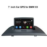 Car GPS Navigation For BMW X3 With 7 Inch Digital LCD And GPS Bluetooth A2dp PIP