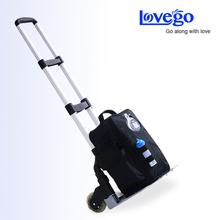 4 hours operated portable oxygen concentrator/oxygen for ashama/concentrated oxygen for COPD/with two batteries/Free shipping