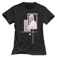 Gildan Women Salute Amelia Earhart Young Aviator Round Neck girl woman T shirt O Neck Cotton Fashion printed t shirts for lady