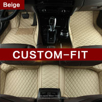 Custom Fit Car Floor Mats For Mazda MX5 3D All Weather Protection Heavy Duty Car Styling