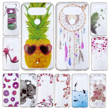 For LG Q 8 Q8 V20 Mini H970 Case Cartoon Silicone TPU Skin Soft Back Cover for Protector