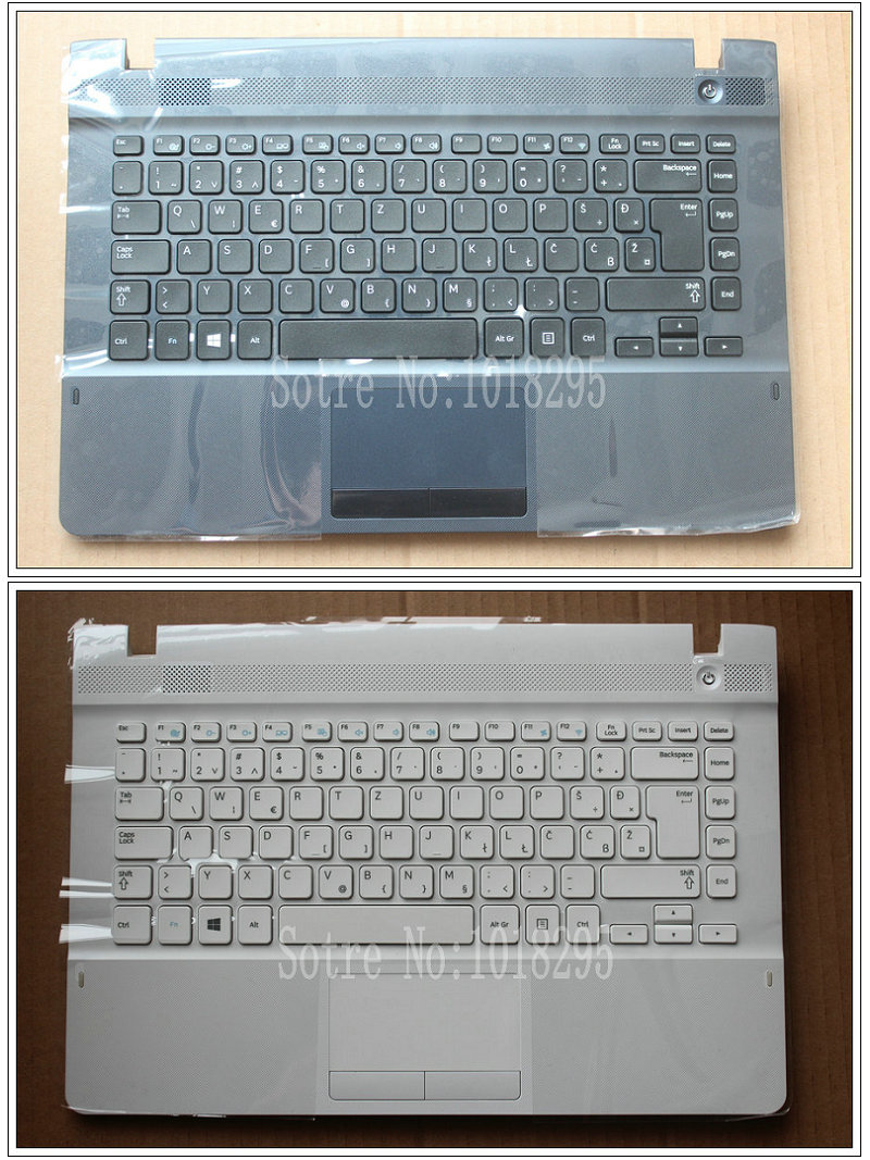NEW For samsung NP270E4E NP300E4E NP270E4V NP275E4V Slovenian SV/SL laptop keyboard with case Touchpad BA75-04583P laptop keyboard for clevo w670sfq w670sfq1 black without frame slovenian sv