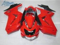 Mejora tu kit de carenados de inyección para KAWASAKI 2008-2014 Ninja 250 ZX 250R ABS sport carenado carrocería EX250 08 09 10 11 14 red