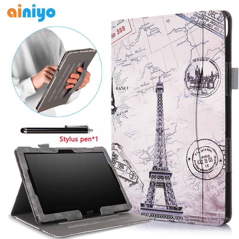 Pu leather Smart cover For <font><b>lenovo</b></font> tab M10 <font><b>TB</b></font>-X605F <font><b>TB</b></font>-X605L <font><b>Case</b></font> cover For <font><b>Lenovo</b></font> Tab P10 <font><b>TB</b></font>-X705F <font><b>TB</b></font>-<font><b>X705L</b></font> <font><b>TB</b></font>-X605F+ gifts image