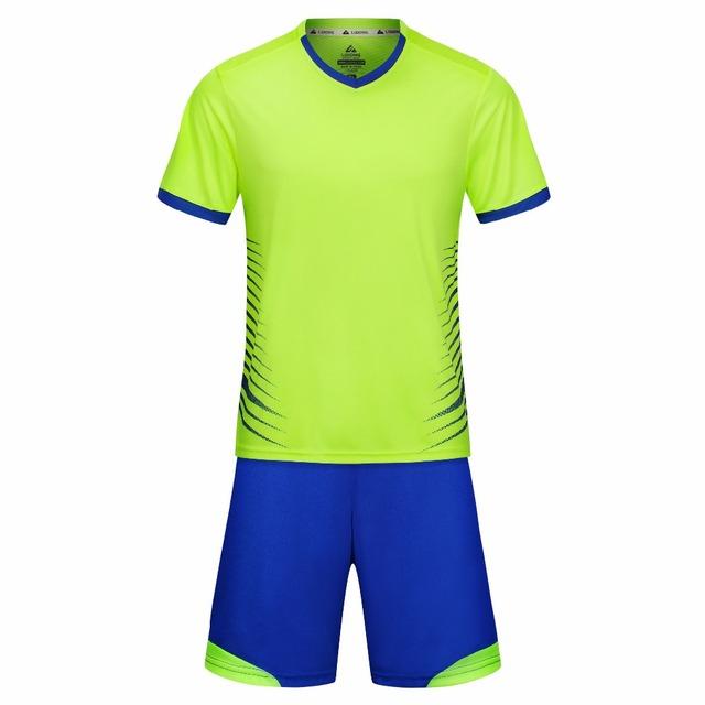 2018 Kids Adult Soccer Jersey survetement Football Kit Men child Futbol Training