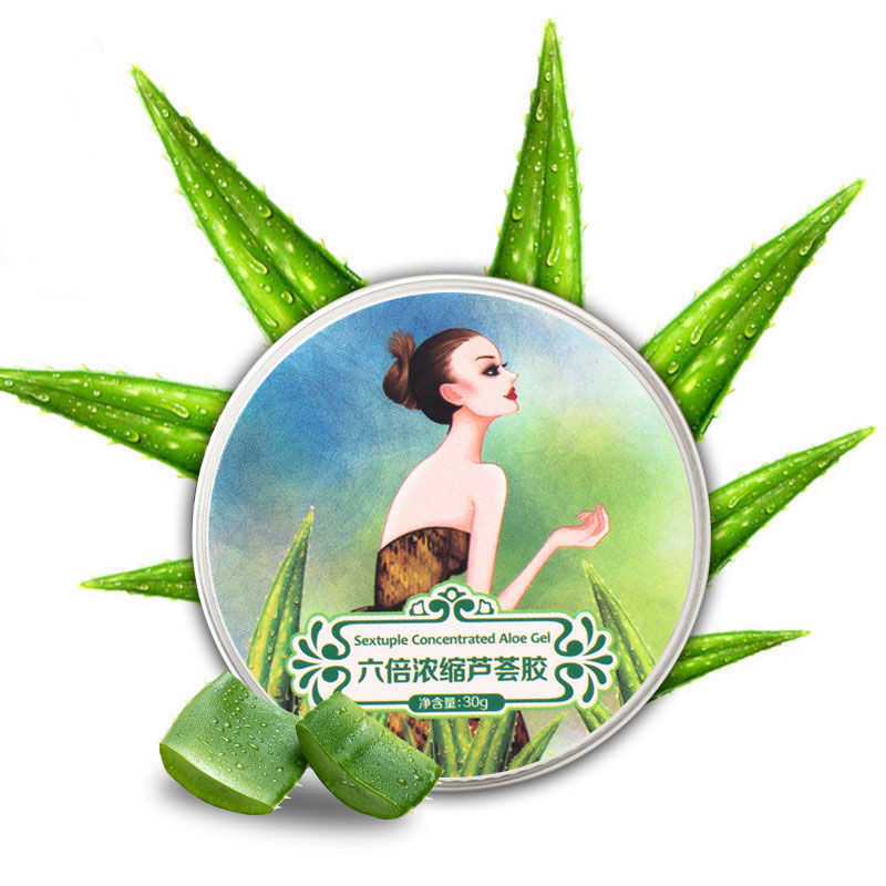 Aloe Vera Gel Skin Care Facial Cream 1PCS Hyaluronic Acid Anti Winkle Whitening Moisturizing Acne Treatment Cream 13 g /30g 70