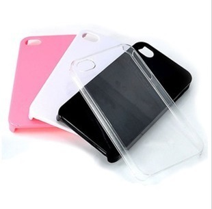New 50PCS multi color diy protection shell high quality for iphone 4 4s case #8137