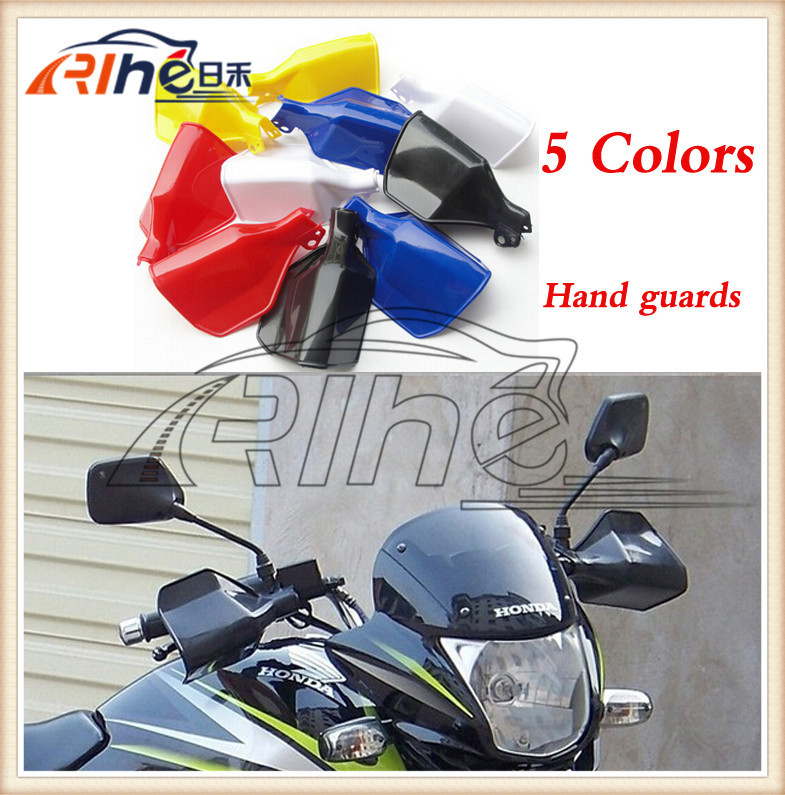 New arrival Universal MOTOCROSS HAND GUARDS  MOTORCYCLE Hand Protector Wind Guards handguards FOR DIRTBIKE MX ATV atv motorcycle wind shield handle hand guards motocross transparent handguards for honda cbf600 sa cbf1000 a cb1100 gio nc750