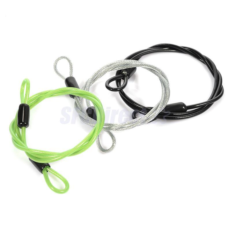 3 Stücke Fahrrad U-Lock Security Loop Kabelschloss Seil Heavy Duty Outdoor Sports Radfahren Zubehör