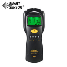 AS981 Digital Moisture Meter Mini Wood Humidity Detector With LCD Display Wood Moisture Tester moisture meter higrometro tk100w wood sawdust powder meter hay bale bamboo powder moisture fiber tester bv196 sd