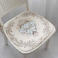 Coussin coussin de salão de beleza almofada de almofada de cadeira de jantar almofada de almofada de sofá decorativo engrossado