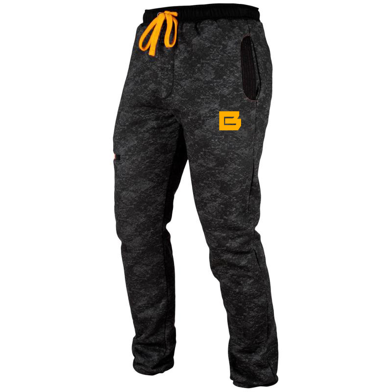 Muscle Europe and America autumn and winter camouflage casual sports pants men's fitness trousers running training pants