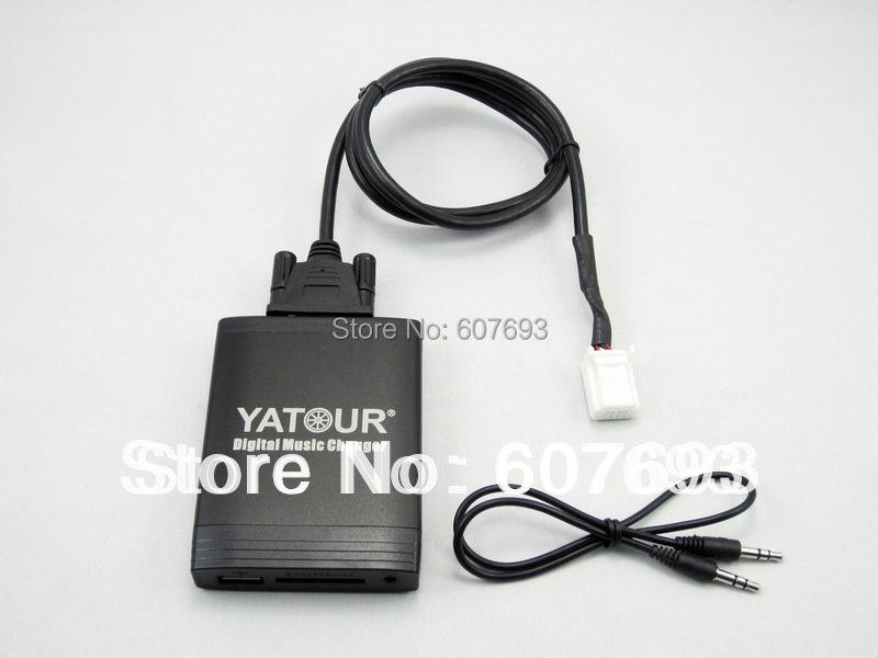 buy yatour usb car stereo adapter fit toyota lexus 2003 2013 mp3 aux interface. Black Bedroom Furniture Sets. Home Design Ideas