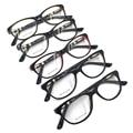 Laura Fairy High Quality Women Frame Glasses Retro Cateye Shape Patchwork Prescription Eyewear Glasses Frames
