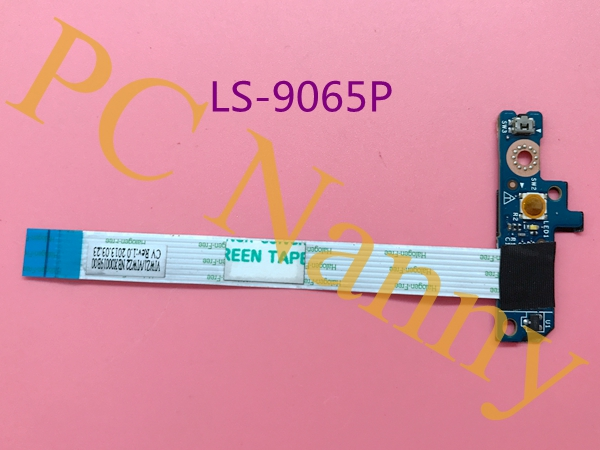 Genine Laptop switch board power button board for Lenovo Z400 Z500 P400 LS-9065P