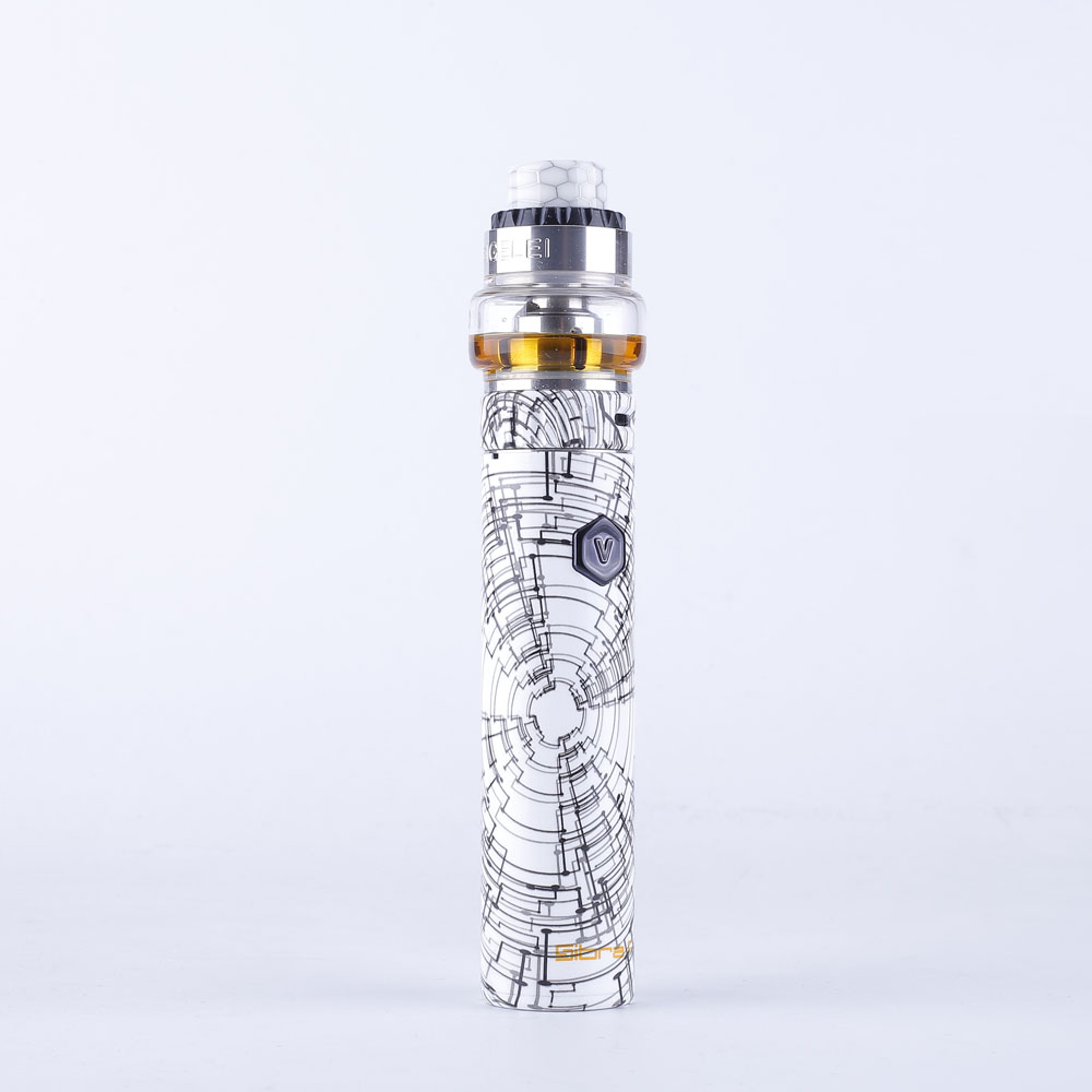 Newest electronic cigarette Original sigelei Sibra F Vape kit med with moonshot 120 tank 3000mAh built-in Battery nice Pattern