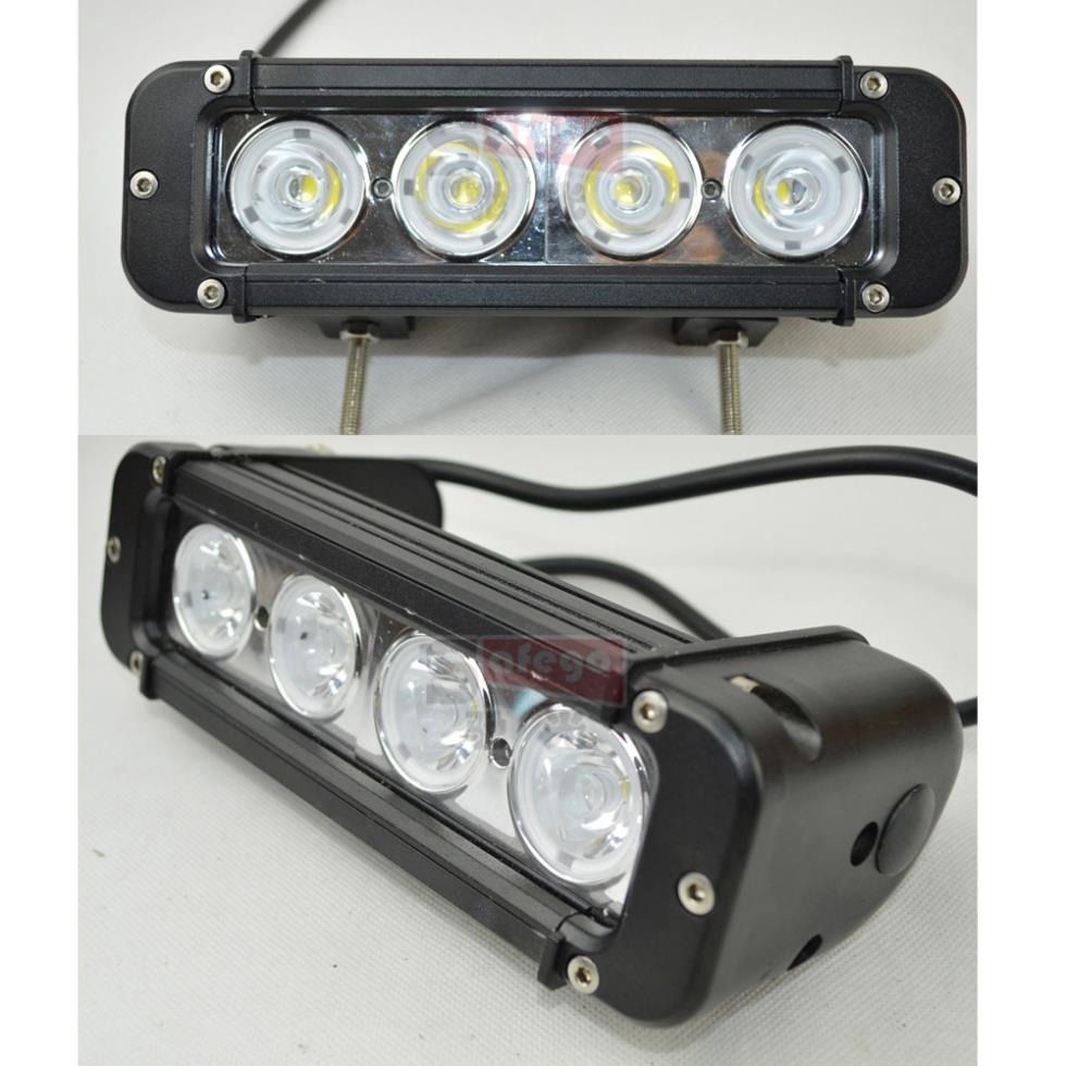 2pcs 8 Inch 40W IP68 Cree LED Light Bar with Flood Spot Beam for 4WD 4x4