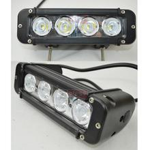 2pcs 8 Inch 40W IP68 Cree LED Light Bar with Flood Spot Beam for 4WD 4×4 Offroad Jeep Truck Car Mining Boat LED Work Light