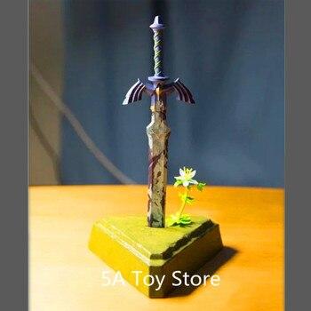 The Legend of Zelda Skyward Sword Link Master Sword PVC Action Figure Decoration Model Toy 26cm Тахеометр