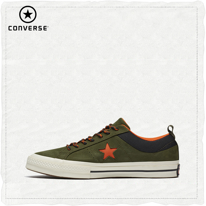 Converse Official Original One Star Fashinable And Breathable Skateboarding Shoes Unisex Lace-Up Flat Sneaksers #162544CConverse Official Original One Star Fashinable And Breathable Skateboarding Shoes Unisex Lace-Up Flat Sneaksers #162544C