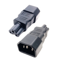 IEC320 C14 to C5 pdu UPS plug female Power adapter PLUG CONVERTER C6 to C13 Changer