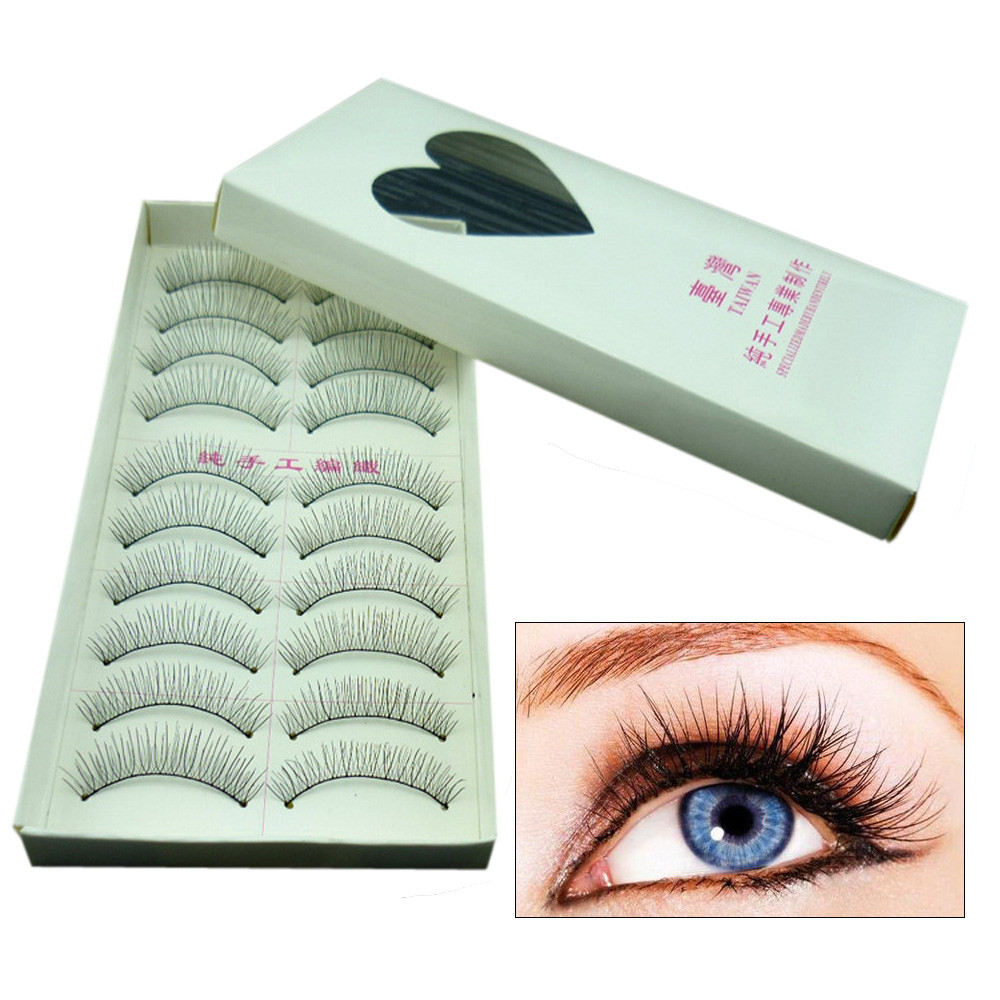 Beauty Essentials Back To Search Resultsbeauty & Health Obedient Hot 10 Pairs Natural Fashion Eyelashes Eye Makeup Handmade Long False Lashes Sparse Beauty Make Up Popular Sexy Cilios 7.28 To Have A Long Historical Standing