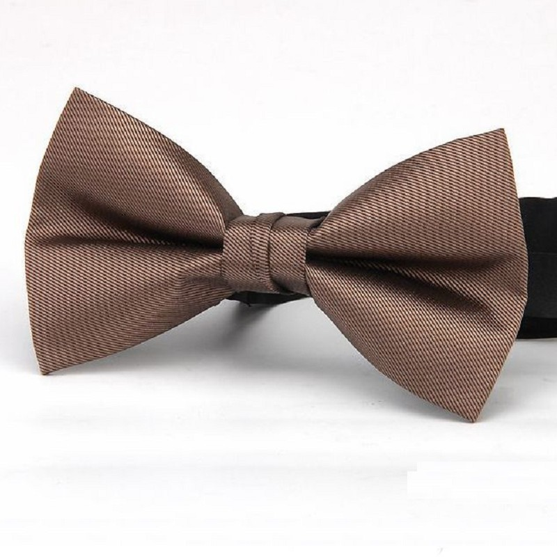 solid bow tie for men adult butterfly male wedding evening party neckwear black red blue bowknot