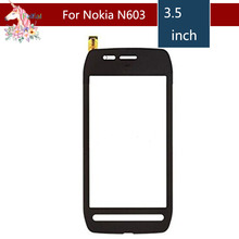 Original 3.5 For Nokia 603 N603 LCD Touch Screen Digitizer Sensor Outer Glass Lens Panel Replacement 3 5 for nokia n8 n 8 lcd touch screen digitizer sensor outer glass lens panel replacement
