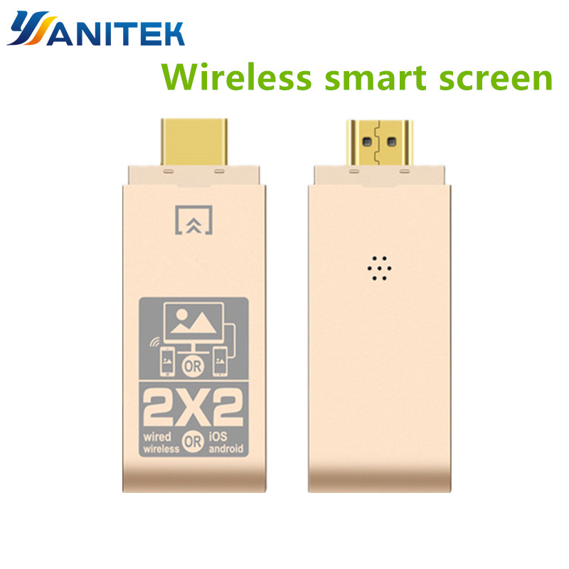 Wireless HDMI Adapter Dual System Dual Mode Phone To HDTV Display Wifi Micro HDMI Adapter IOS Android TV Dongle For IPhone 7 8 X
