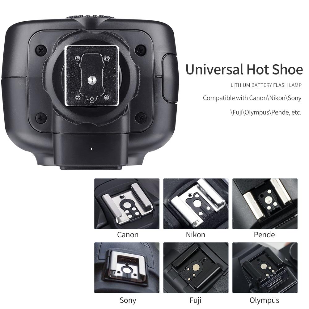 Image 5 - Godox TT600 2.4G Wireless GN60 Master/Slave Camera Flash Speedlite with Xpro Trigger for Canon Nikon Sony Pentax Olympus FujiFlashes   -