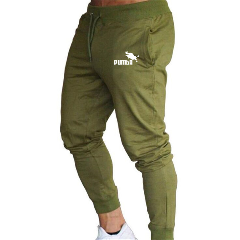 2019 Brand Casual Pencil Trousers Gyms Men Track Pants Joggers Sweatpants  Trousers Sporting The High Quality Bodybuilding Pants