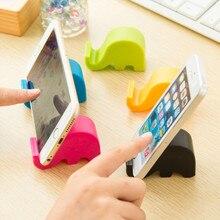 3 шт Универсальный милый слон мобильный сотовый телефон стенд держатель для всех смартфонов стиль планшета регулируемая поддержка телефона Настольный держатель
