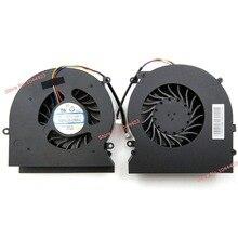 Ноутбук Процессор вентилятор охлаждения для MSI GT62VR 6RD GT62VR 6RE GT62VR 7RE Dominator Pro 16L1 16L2 Процессор графического процессора вентилятор 12В 0.65A 4-контактный