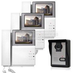 DIYSECUR 800x480 HD 4,3 дюймов видеодомофон дверной звонок 600TV Line наружный блок для дома/офиса система безопасности