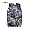 "TANGIMP18"" Cool 3D Crazy Shoes Plate Printing Backpack Men's Backpack Bag for Boy Laptop School College Student mochila feminina"
