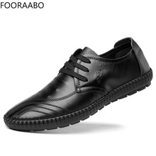 hot deal buy 2019 new men shoes business casual shoes men leather flats british style mens shoes sneakers zapatillas hombre chaussure homme