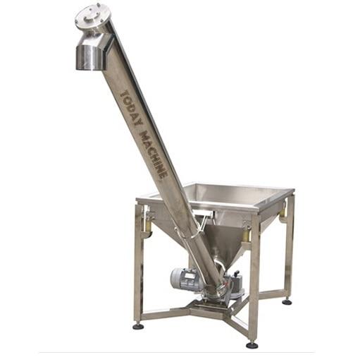 Flexible grain auger screw conveyor with steel screw blade inside in Power Tool Accessories from Tools