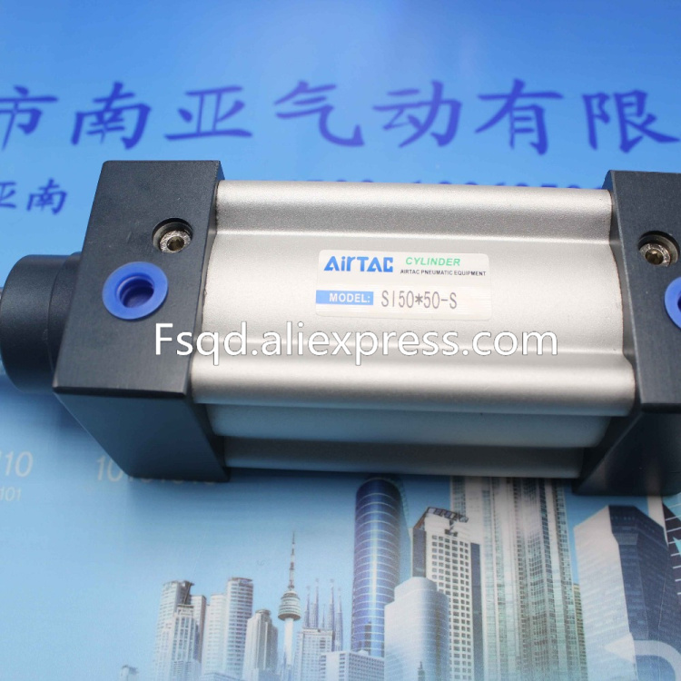 SI50-150 AIRTAC Standard cylinder air cylinder pneumatic component air tools SI series hlq6 10sat 20sat 30sat 40sat 50sat airtac sliding table cylinder