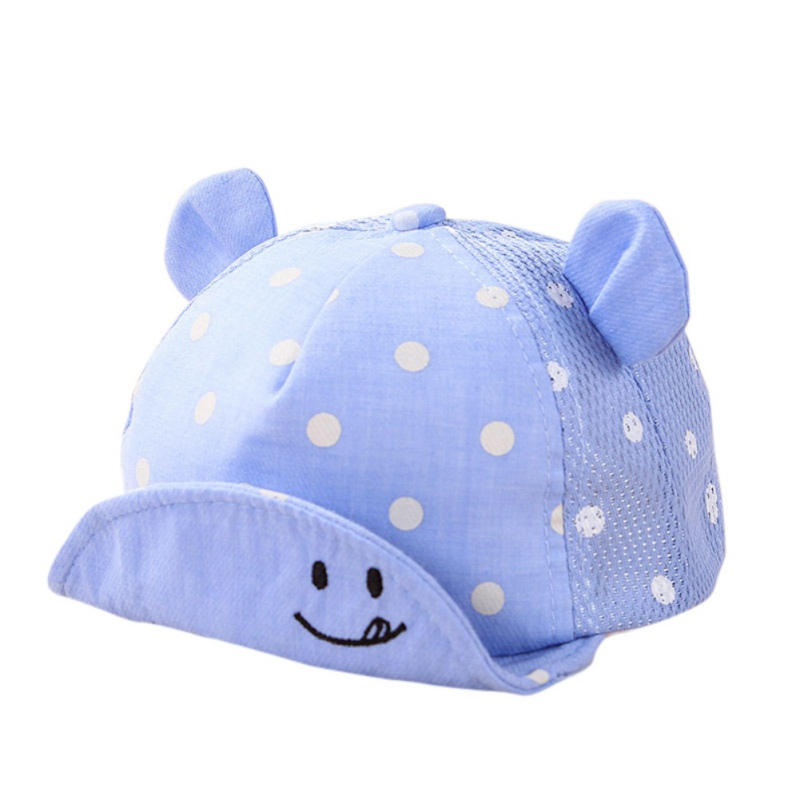Cute Dots Little Ear Hat Kids Cap Newborn Toddler Girl Boy Baby Snapback Baseball Cap