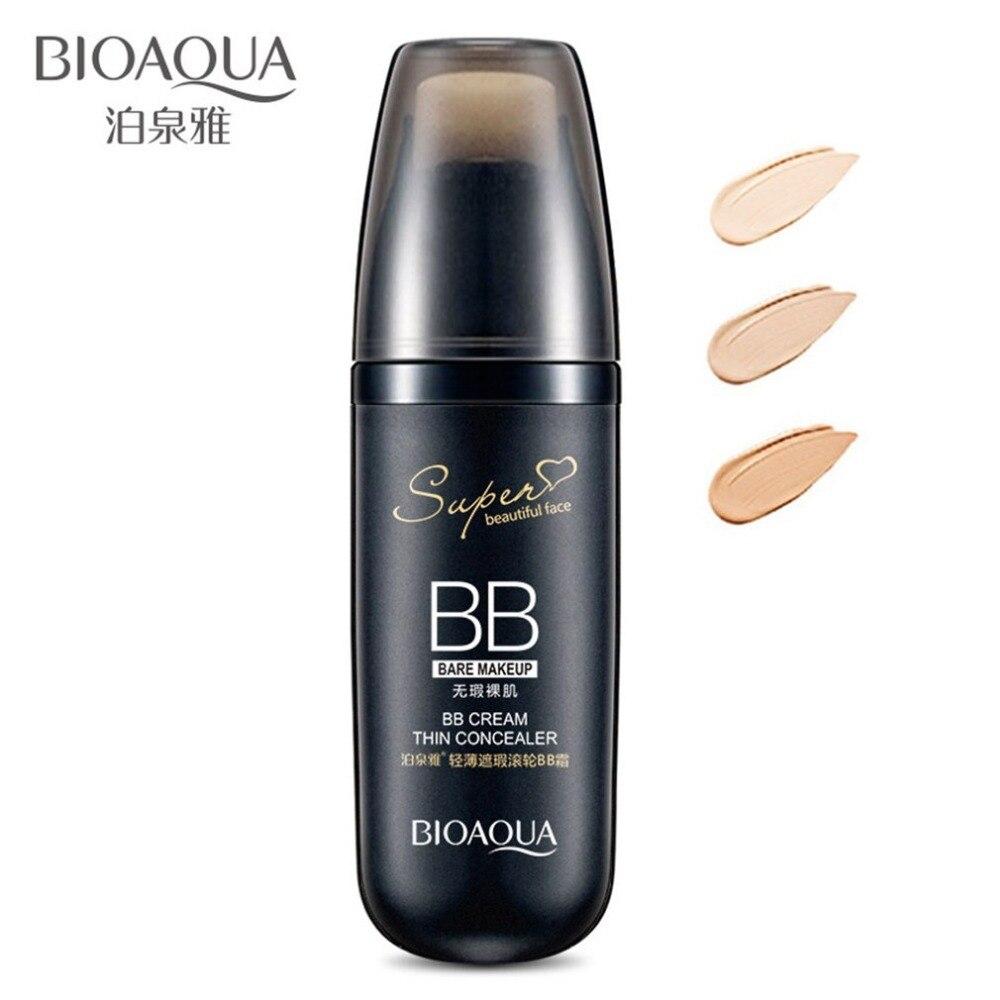 30g impermeable crema BB con esponja rodillo blanqueamiento aislamiento hidratante corrector maquillaje Fundación belleza maquillaje cojín de aire