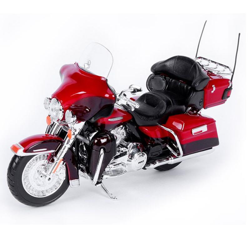 maisto escala aleacin diecast modelo de la motocicleta harley y abs moto